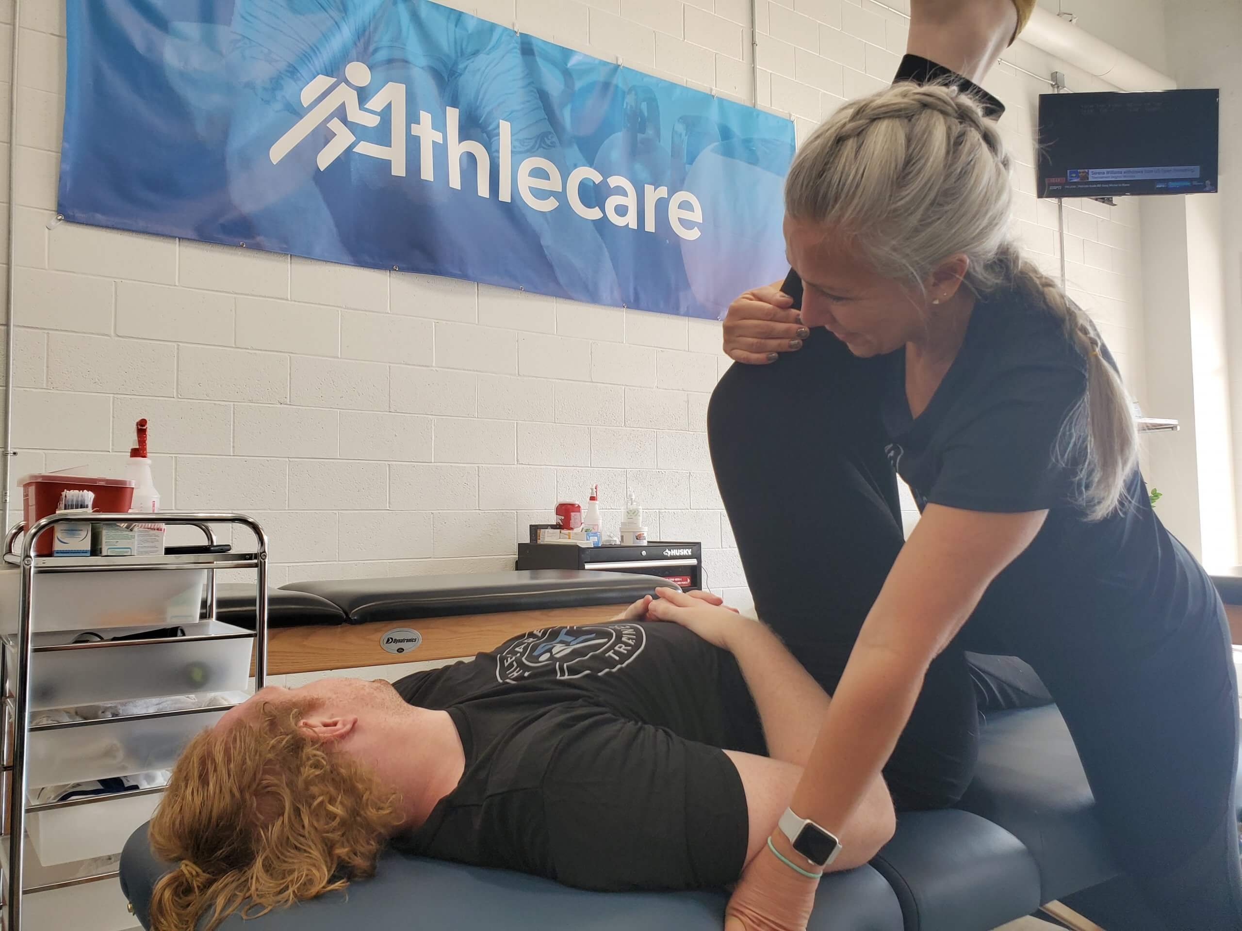FREE Athletic Massage and Stretch
